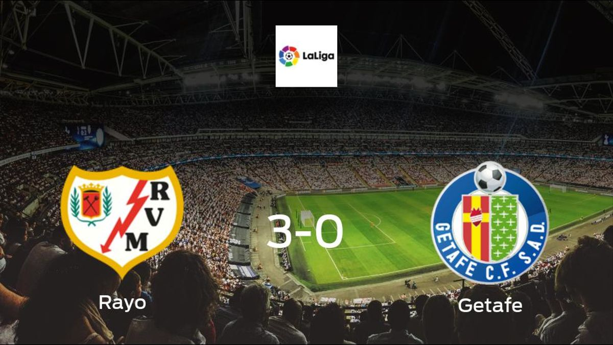 Rayo cruise past Getafe, scoring 3 without reply at Estadio de Vallecas
