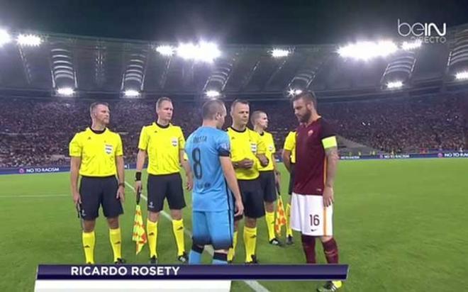 beIN Sports ofreció el Roma-FC Barcelona