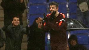 LALIGA | Espanyol-Barça (1-1) | Piqué empató el partido