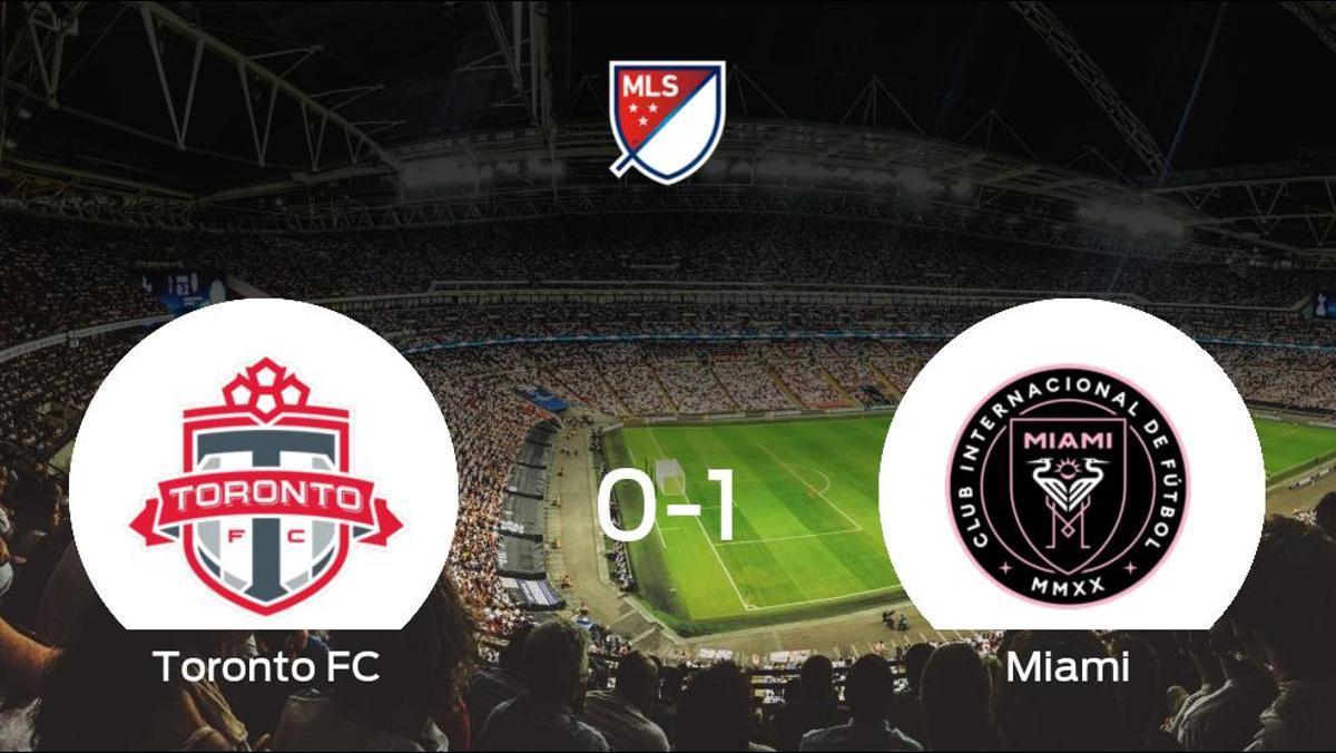 El Inter de Miami se queda con los tres puntos tras ganar 0-1 al Toronto FC