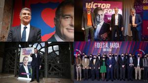 Los precandidatos del Barça ya buscan las firmas necesarias hasta el 11 de enero de 2021