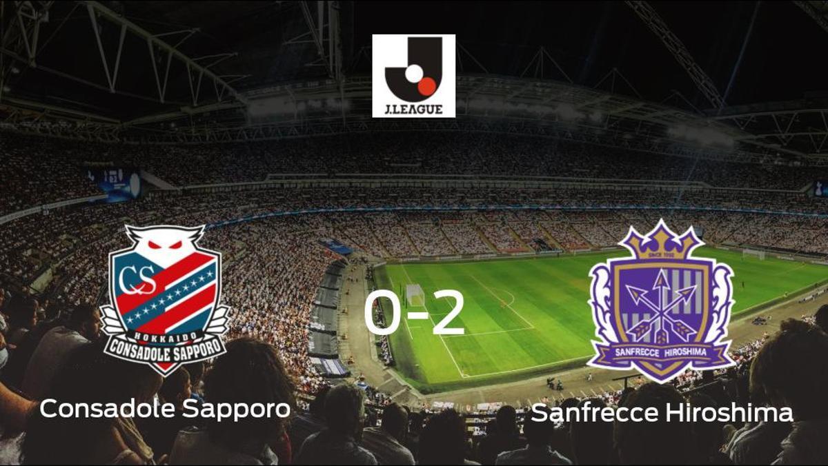 El Sanfrecce Hiroshima gana 0-2 al Consadole Sapporo y se lleva los tres puntos