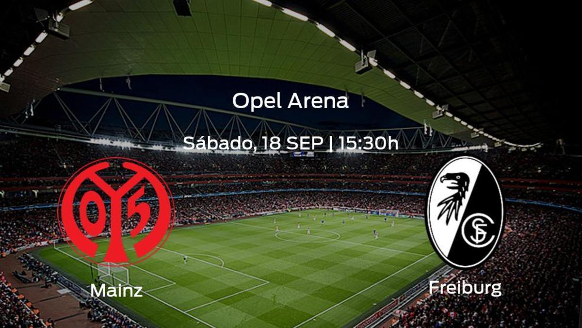 Previa del encuentro: Mainz 05 - SC Freiburg