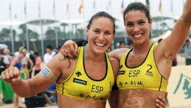 Lili Fernández y Elsa Baquerizo caen 2-0 ante las norteamericanas April y Alix