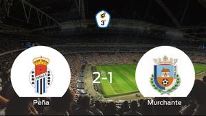 La Peña Sport se hace fuerte en casa y vence al Murchante (2-1)