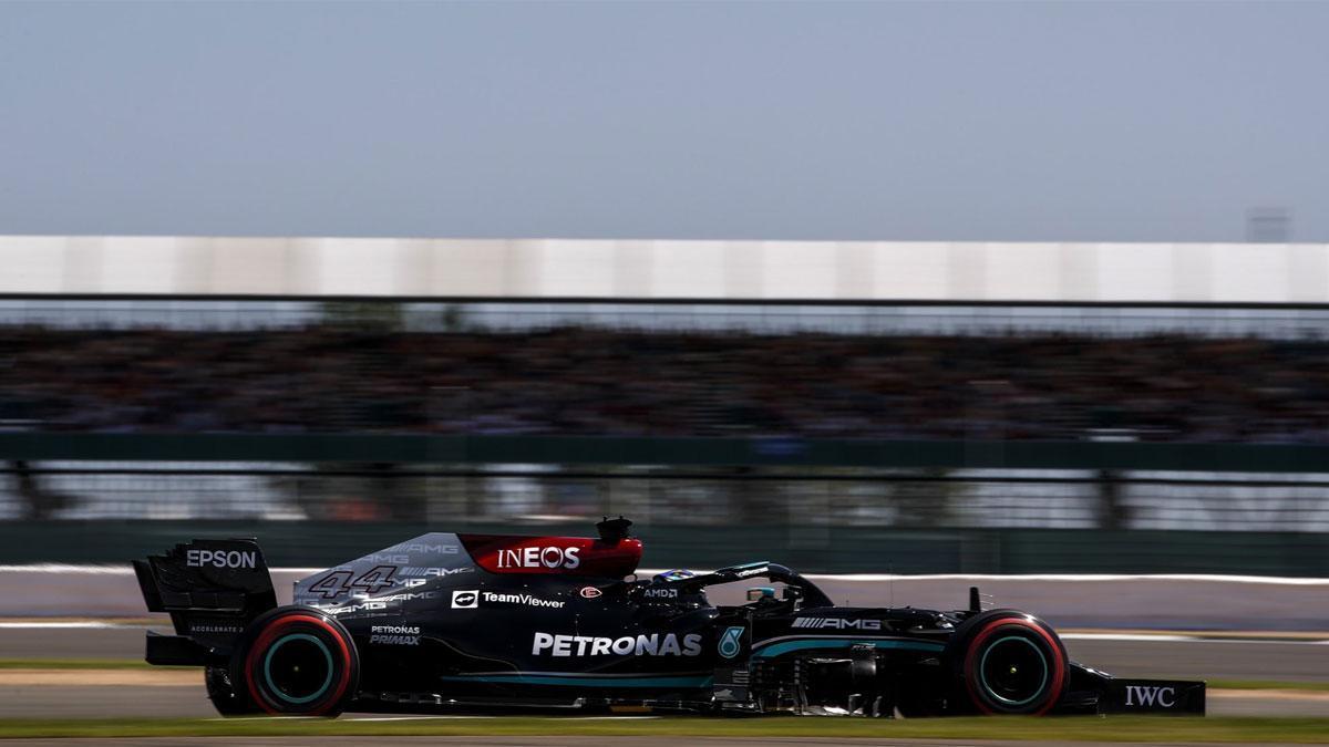 Hamilton ha logrado su octava victoria en Silverstone