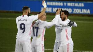 Todos los goles de la victoria del Real Madrid ante el Alavés