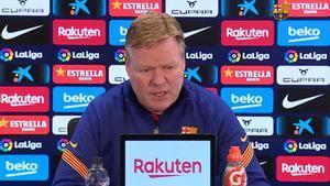 Koeman: Intentamos hacer lo máximo para que Leo se quede