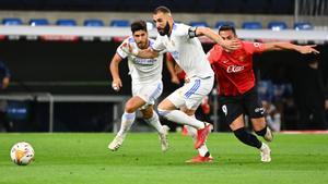 Benzema alargó su gran racha goleadora en el encuentro ante el Mallorca