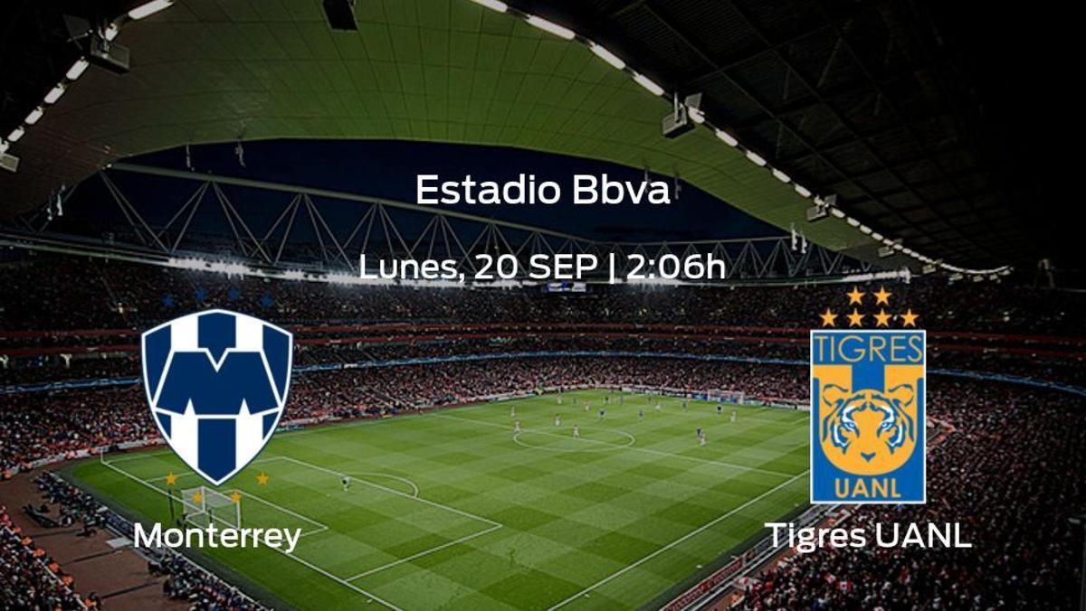 Previa del partido de la jornada 9: Monterrey - Tigres UANL