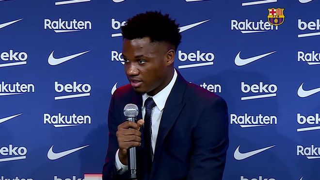 Ansu Fati: Tuve ofertas, pero siempre mi sueño ha sido triunfar en el Barça