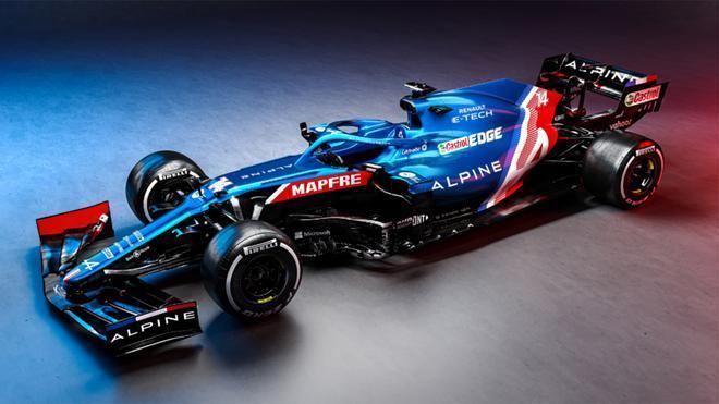 Así es el monoplaza de Alpine con el que va a correr Fernando Alonso