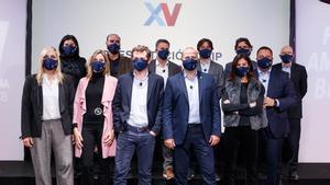 Xavi Vilajoana presentó el equipo de su precandidatura a las elecciones del FC Barcelona