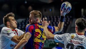 Luka Cindric fue de los mejores en ataque en un espeso Barça