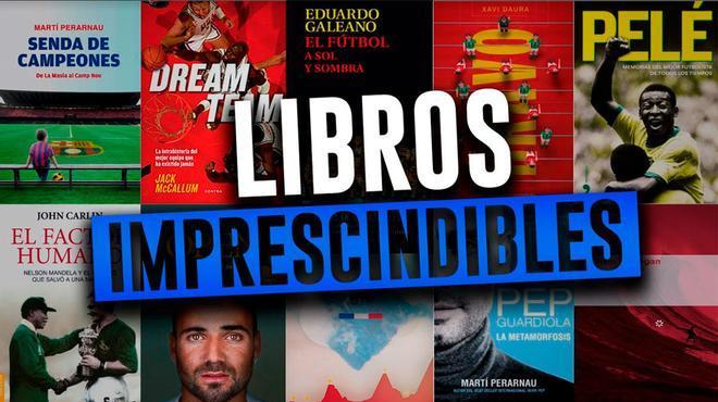 Libros de deporte imprescindible para regalar en Sant Jordi