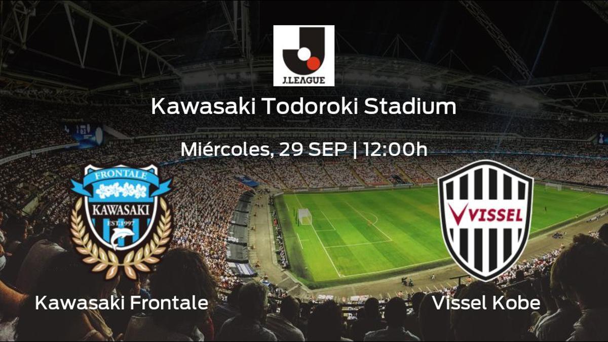 Previa del encuentro: el Kawasaki Frontale defiende el liderato ante el Vissel Kobe