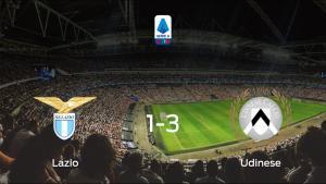 El Udinese vence 1-3 a la Lazio y se lleva los tres puntos