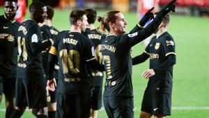 Griezmann vivió uno de sus días más felices con la camiseta del Barça en Granada
