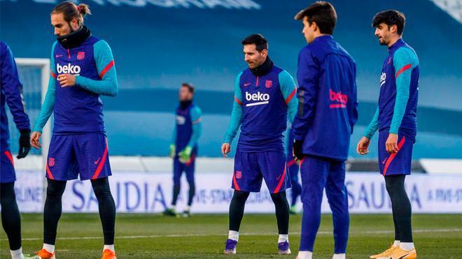 El Barça se verá las caras con la Real Sociedad en la primera semifinal de la supercopa