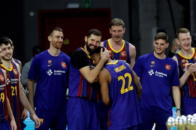 El FC Barcelona se proclama campeón de la Copa del Rey 2021 de baloncesto tras imponerse al Real Madrid en la final disputada en el WiZink Center.