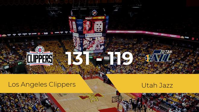 Los Angeles Clippers pasa a la final tras vencer a Utah Jazz por 131-119