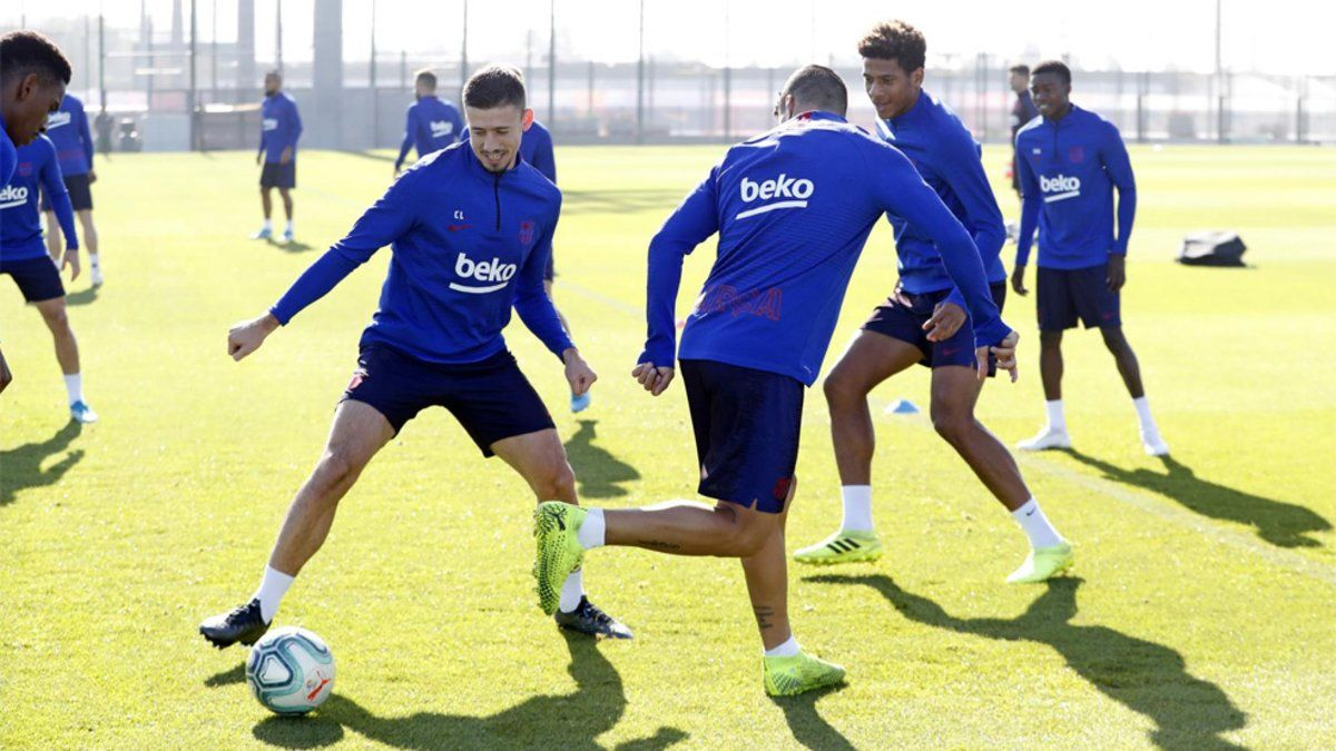 Valverde sigue recuperando efectivos de cara al Eibar-Barça tras el parón de selecciones