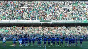 Más de 11.000 aficionados animan al Betis antes de la vuelta copera