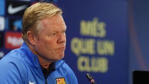 Koeman: El Barça no es solo Ansu Fati