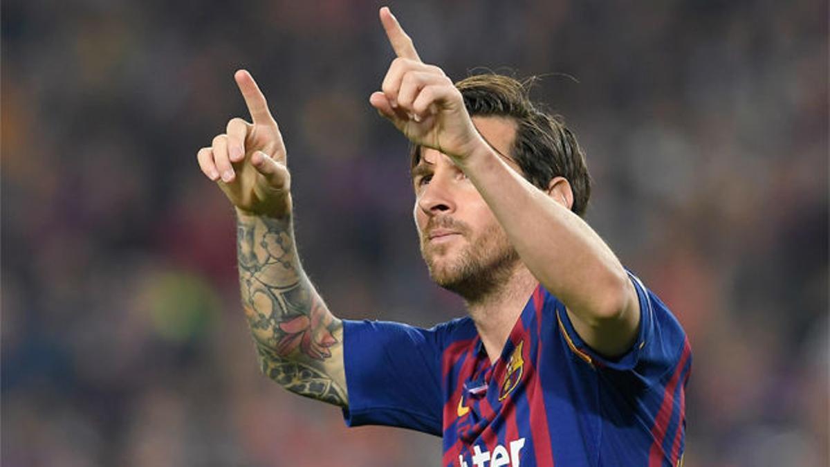 Messi volvió a anotar un golazo marca de la casa