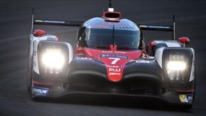 Kobayashi marcó la pole provisional para Toyota