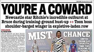 Portada de Daily Mail Sport del 04/03/2021