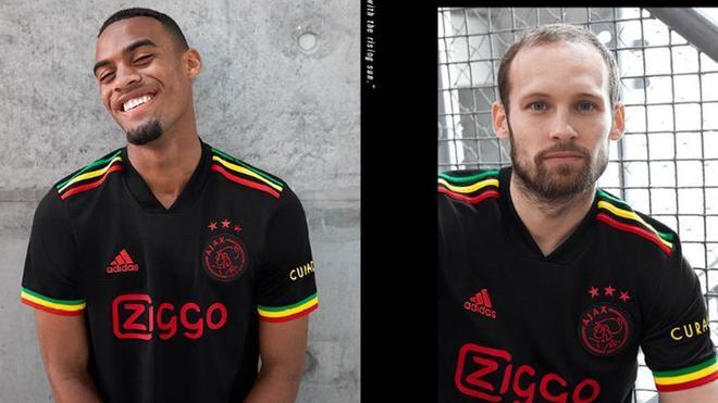 La UEFA no permite usar al Ajax su equipación de Bob Marley