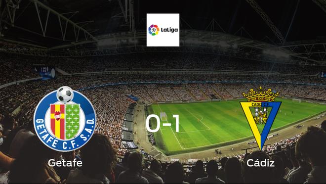 Cádiz celebrate 1-0 victory against Getafe