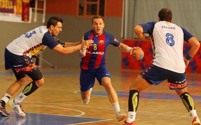Victor Tomás ha colaborado en casi todas las victorias del Barça