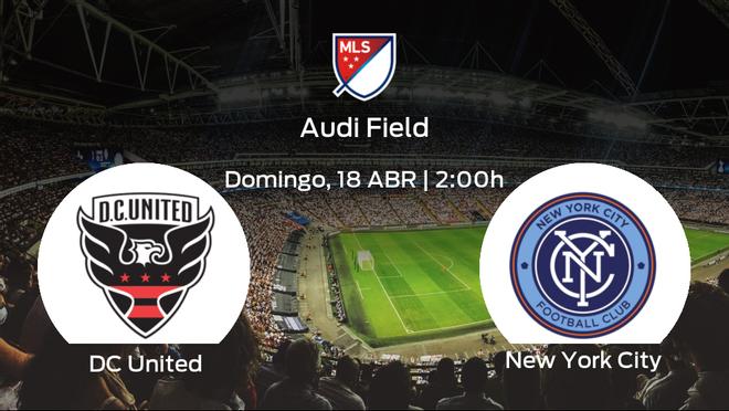 Previa del encuentro: primer duelo de la Major League Soccer para el DC United y el New York City
