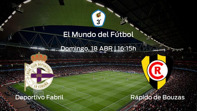 Previa del partido de la jornada 3: Deportivo Fabril contra Rápido de Bouzas