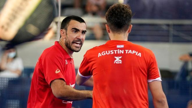 Lima y Tapia se meten en la final