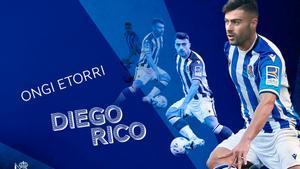 Diego Rico ya es txuri-urdin