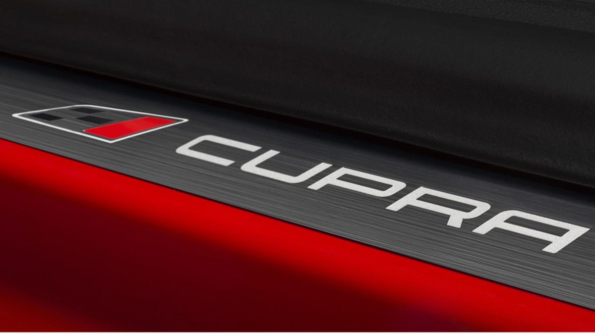 Logo Cupra.