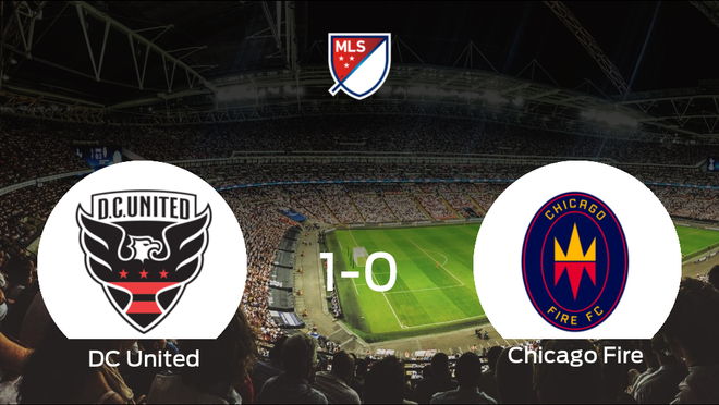 El DC United vence 1-0 frente al Chicago Fire