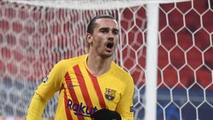 Griezmann está en racha goleadora con el FC Barcelona