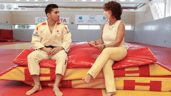 El test de SPORT a Fran Garrigós antes de los Juegos Olímpicos