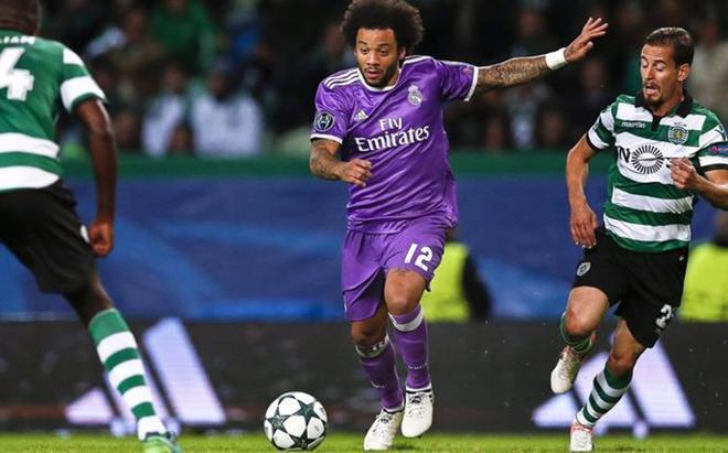 Marcelo no terminó el partido y se retiró con signos de dolor