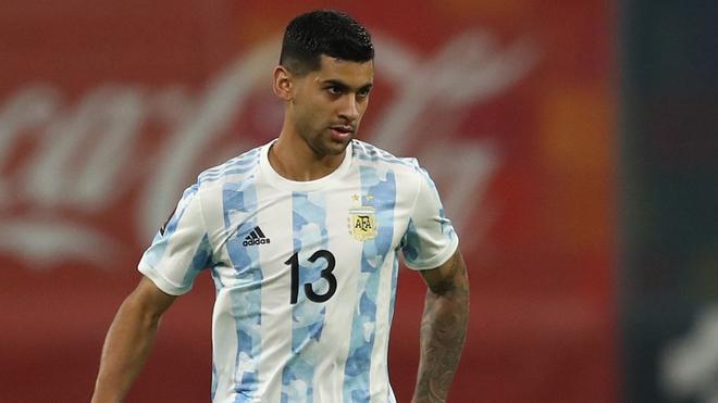 Cristian Romero, durante la Copa América