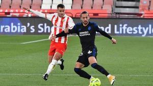 El Almería es uno de los férreos candidatos al título junto al Espanyol y el Mallorca