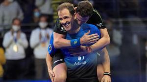 Díaz y Navarro celebran su título en Madrid
