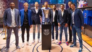 Emotivo homenaje de los campeones de la Euroliga 2010