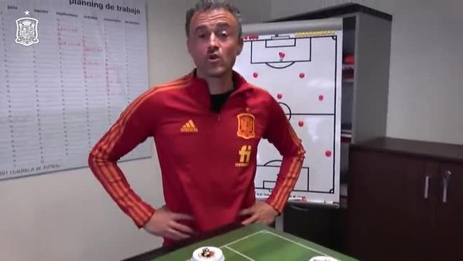 Luis Enrique hace publica la lista de convocados para la Selección