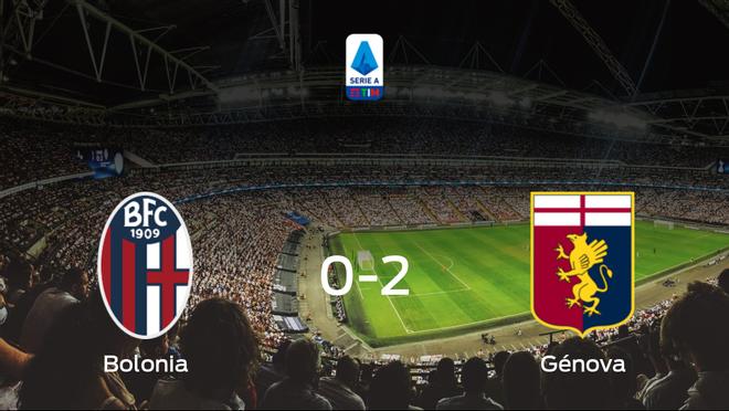 El Génova se lleva tres puntos a casa tras vencer 0-2 al Bolonia