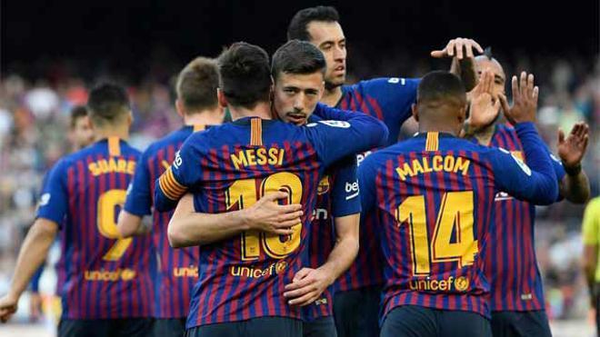 Messi decide el derbi y el Barça no afloja en LaLiga